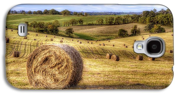 Bale Galaxy S4 Cases - Fields of Gold Galaxy S4 Case by Scott Norris