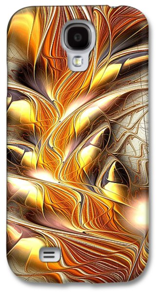 Scary Galaxy S4 Cases - Fiery Claws Galaxy S4 Case by Anastasiya Malakhova