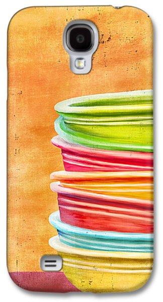 Hattiesburg Galaxy S4 Cases - Fiesta 2 Galaxy S4 Case by Brenda Bryant