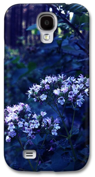 Lucy D Galaxy S4 Cases - Fifty Shades of Purple Galaxy S4 Case by Lucy D