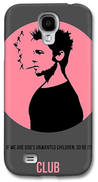 Fight Digital Art Galaxy S4 Cases - Fight Club Poster 1 Galaxy S4 Case by Naxart Studio