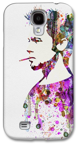 Tv Galaxy S4 Cases - Fight Club Watercolor Galaxy S4 Case by Naxart Studio