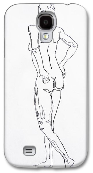 Figure Drawing Galaxy S4 Cases - Figure Drawing Study I  Galaxy S4 Case by Irina Sztukowski