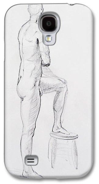 Figure Drawing Galaxy S4 Cases - Figure Drawing Study IV Galaxy S4 Case by Irina Sztukowski