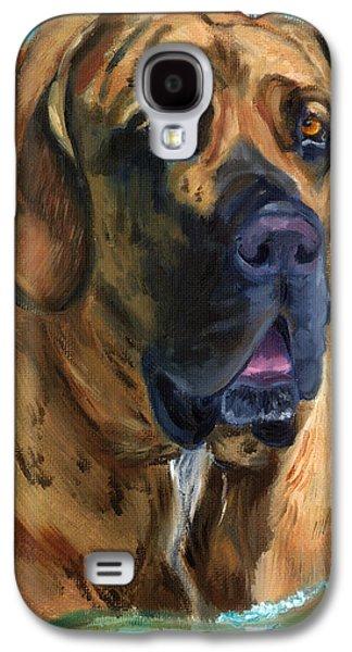 Working Dog Galaxy S4 Cases - Fila Brasileiro...Swim Galaxy S4 Case by Lyn Cook