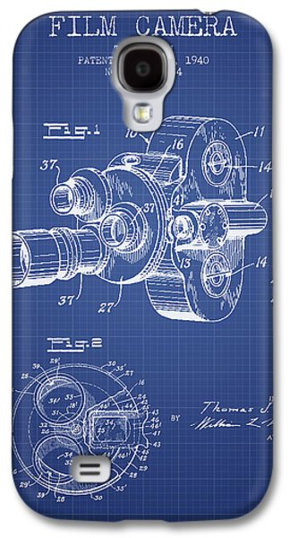Recently Sold -  - Drawing Galaxy S4 Cases - Film Camera Patent From 1940 - Blueprint Galaxy S4 Case by Aged Pixel
