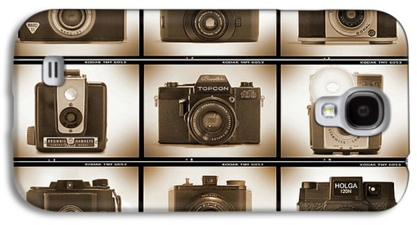 Rangefinder Galaxy S4 Cases - Film Camera Proofs 3 Galaxy S4 Case by Mike McGlothlen