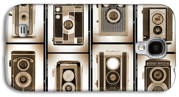 Rangefinder Galaxy S4 Cases - Film Camera Proofs 4 Galaxy S4 Case by Mike McGlothlen