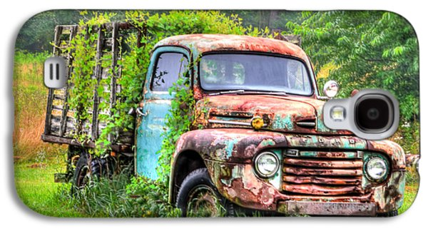 Final Resting Place Galaxy S4 Cases - Final Resting Place - Ford Truck Galaxy S4 Case by Bill Cannon