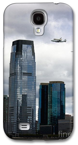 Enterprise Galaxy S4 Cases - Final Voyage of Space Shuttle Enterprise Galaxy S4 Case by Nishanth Gopinathan