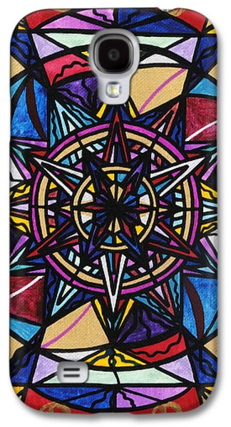 Printed Galaxy S4 Cases - Financial Freedom Galaxy S4 Case by Teal Eye  Print Store