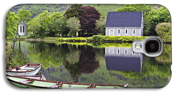 Gougane Barra Church Photographs Galaxy S4 Cases - Finbarrs Retreat Galaxy S4 Case by Dan McGeorge