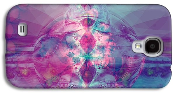 Inner Self Galaxy S4 Cases - Find Your Inner Strength Galaxy S4 Case by Elizabeth McTaggart