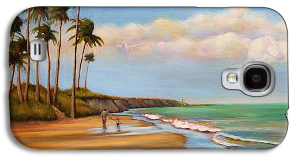Beach Landscape Galaxy S4 Cases - Finding Jesus #1 Galaxy S4 Case by Susan Jenkins