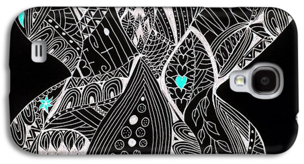 Finding My Soul Galaxy S4 Case by Nancy TeWinkel Lauren
