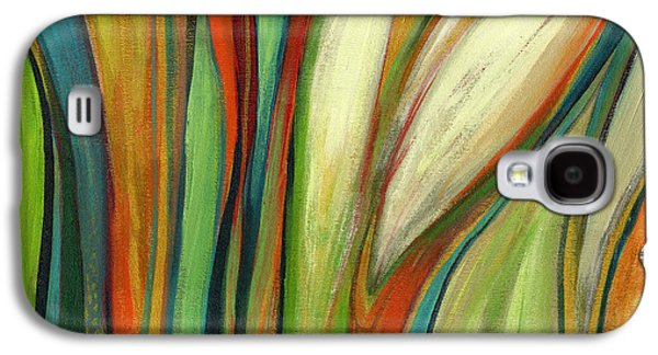 Modern Abstract Galaxy S4 Cases - Finding Paradise Galaxy S4 Case by Jennifer Lommers