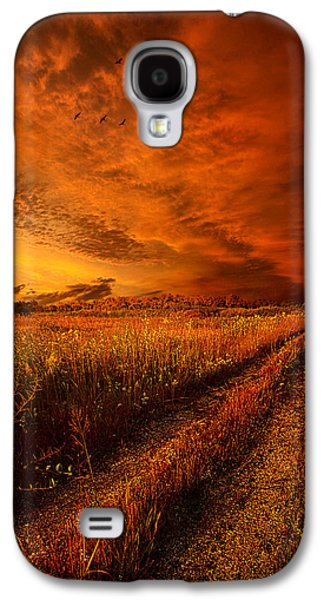 Vertical Flight Galaxy S4 Cases - Finding the Way Home Galaxy S4 Case by Phil Koch
