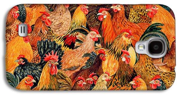 Fine Fowl Galaxy S4 Case by Ditz