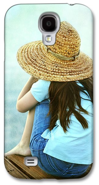 Character Portraits Photographs Galaxy S4 Cases - Finn Galaxy S4 Case by Laura  Fasulo