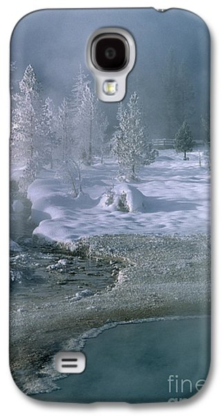 Fire And Ice - Yellowstone National Park Galaxy S4 Case by Sandra Bronstein