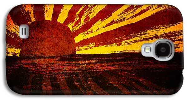 Brenda Bryant Photography Galaxy S4 Cases - Fire in the Sky Galaxy S4 Case by Brenda Bryant