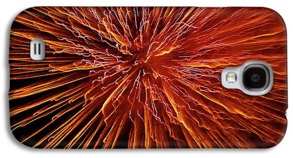 Pyrotechnics Galaxy S4 Cases - Fire In The Sky Galaxy S4 Case by Carolyn Marshall