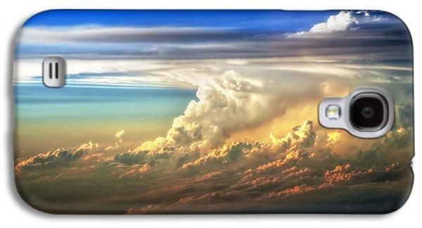 Fire In The Sky From 35000 Feet Galaxy S4 Case by Scott Norris