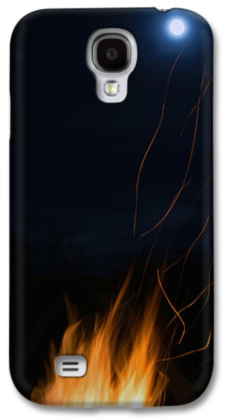 Fire Galaxy S4 Cases - Fire Laces Galaxy S4 Case by MaJoR  Images