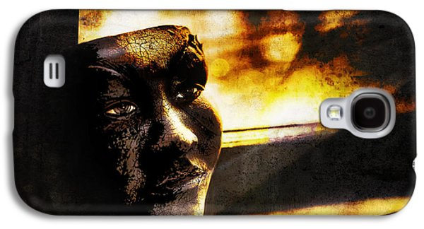 Fire Mask Galaxy S4 Case by Scott Norris