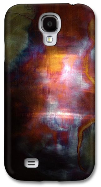 Copper Galaxy S4 Cases - Fire Song Galaxy S4 Case by Shahna Lax