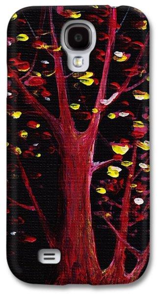 Cards Galaxy S4 Cases - Firefly Dream Galaxy S4 Case by Anastasiya Malakhova