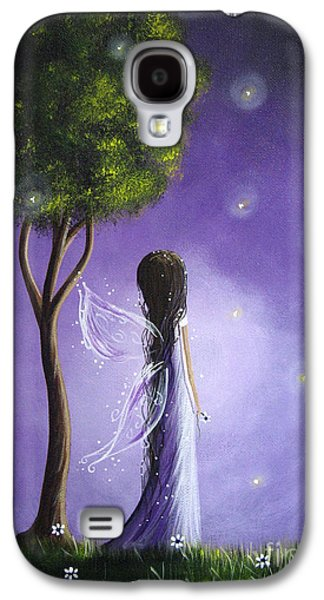 Dreamscape Galaxy S4 Cases - Original Fairy Art by Shawna Erback Galaxy S4 Case by Shawna Erback