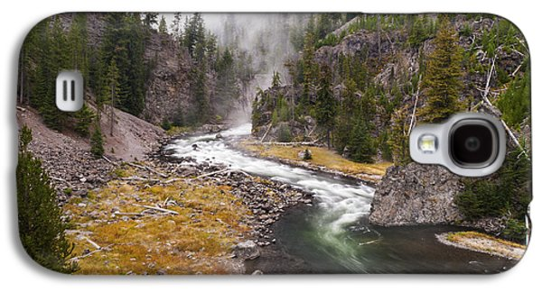 Landscapes Photographs Galaxy S4 Cases - Firehole Canyon - Yellowstone Galaxy S4 Case by Brian Harig