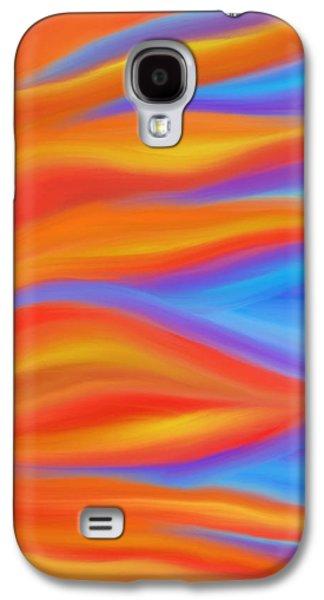 Daina White Galaxy S4 Cases - Firelight Galaxy S4 Case by Daina White