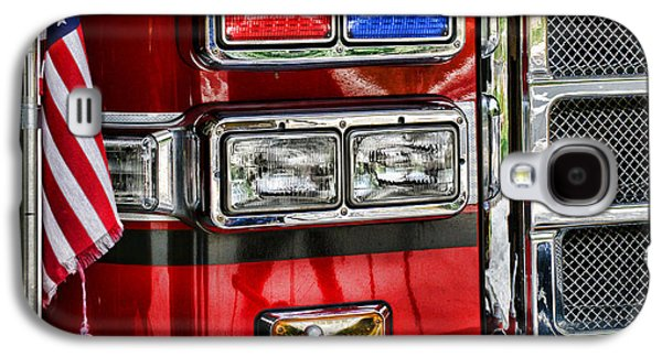 Equipment Photographs Galaxy S4 Cases - Fireman - Fire Engine Galaxy S4 Case by Paul Ward