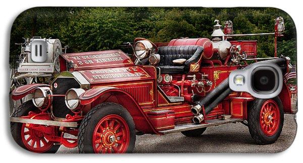 Brigade Galaxy S4 Cases - Fireman - Phoenix No2 Stroudsburg PA 1923  Galaxy S4 Case by Mike Savad