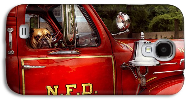 Brigade Galaxy S4 Cases - Fireman - This is my truck Galaxy S4 Case by Mike Savad