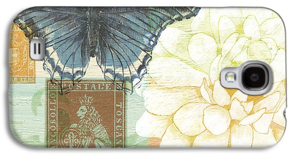 Flora Paintings Galaxy S4 Cases - Firenze Galaxy S4 Case by Debbie DeWitt
