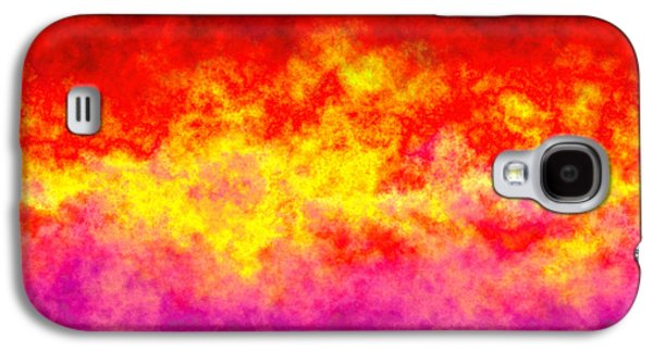 Texas Artist Galaxy S4 Cases - Firestarter Galaxy S4 Case by Wendy J St Christopher