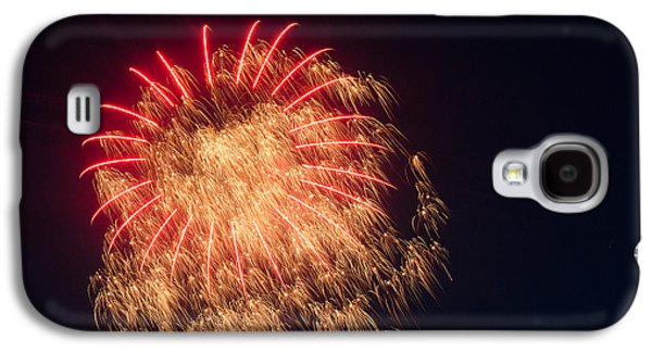4th July Pyrography Galaxy S4 Cases - Firework 4 Galaxy S4 Case by David Nace