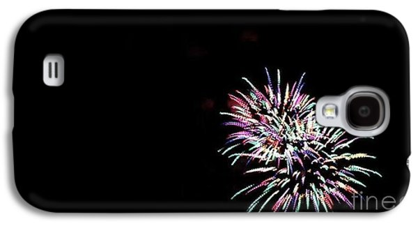4th July Pyrography Galaxy S4 Cases - Firework Galaxy S4 Case by Anthony Pearson