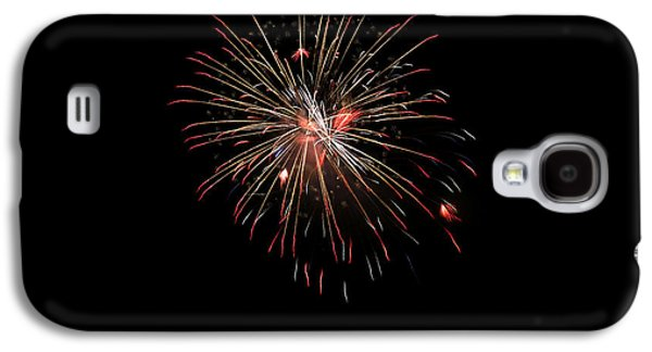 4th July Galaxy S4 Cases - Fireworks 1 Galaxy S4 Case by Marilyn Hunt