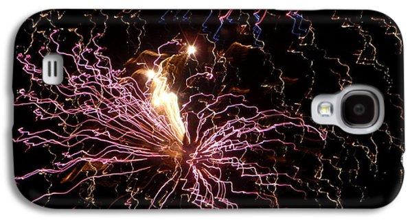 4th July Galaxy S4 Cases - Fireworks 10 Galaxy S4 Case by Senske Art