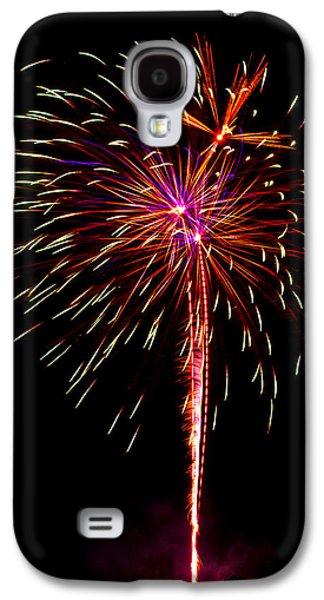 4th July Galaxy S4 Cases - Fireworks 11 Galaxy S4 Case by Paul Freidlund