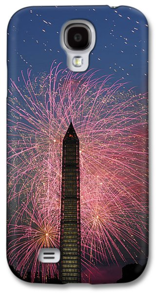 4th July Galaxy S4 Cases - Fireworks 5 Galaxy S4 Case by David Lunde