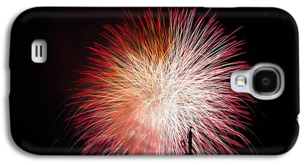 4th July Galaxy S4 Cases - Fireworks 5 Galaxy S4 Case by Paul Johnson