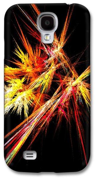 Decor Galaxy S4 Cases - Fireworks Galaxy S4 Case by Anastasiya Malakhova