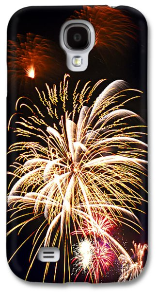 Exploding Galaxy S4 Cases - Fireworks Galaxy S4 Case by Elena Elisseeva