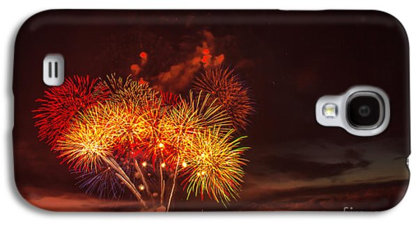 4th July Galaxy S4 Cases - Fireworks Finale Galaxy S4 Case by Robert Bales