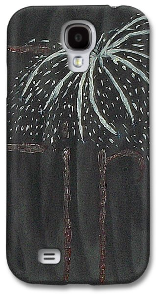 4th July Galaxy S4 Cases - Fireworks Galaxy S4 Case by Nannette Kelly